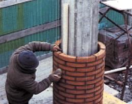 Costruire una colonna in mattoni for Costo per costruire pilastri di pietra