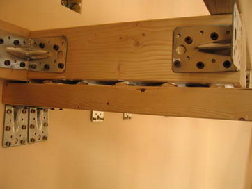 Architetto di leo leonardo costruzione di un soppalco for 2 bay garage con soppalco