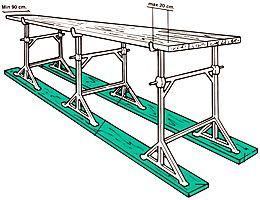 Architetto di leo leonardo ponte su cavalletti for Piani di progettazione di ponti gratuiti