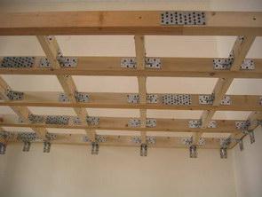 Architetto di leo leonardo costruzione di un soppalco for Piano di costruzione in legno soppalco