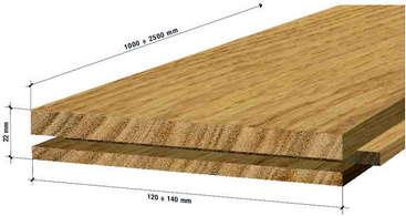 Architetto di leo leonardo il parquet tradizionale for Spessore parquet