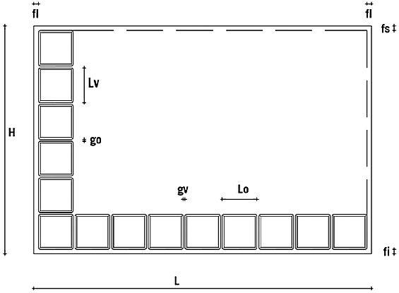 Dimensioni mattoni vetrocemento